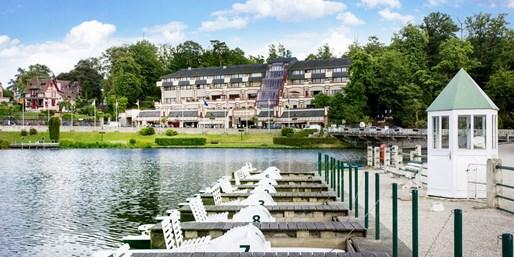 98€ -- Normandie : nuit 3* & spa en bord de lac, jsq -41%