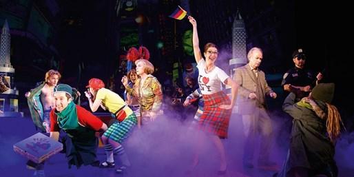 ab 46 € -- Bremen: Musical Ich war noch niemals in New York