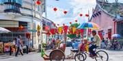 ¥39,800 -- 東西文化の融合ビーチリゾート ペナン島4日間ツアー 毎朝食付