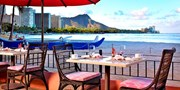 ¥131,900 -- ハワイ5つ星ビーチフロント5日間 朝食&ドリンク飲み放題付