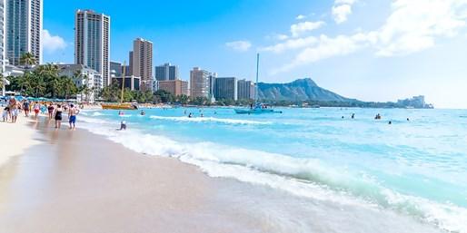 ¥74,800 -- ハワイツアー最安値 トロリー&バス乗り放題付 設定日多&週末同額も