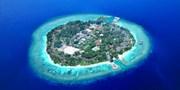 ¥162,800 -- 1島1リゾート・モルディブ5日間 4つ星水上ヴィラ3連泊 ボート送迎付