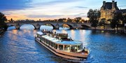 $102 -- Paris: Dinner Cruise for 2 w/Champagne, Save 56%