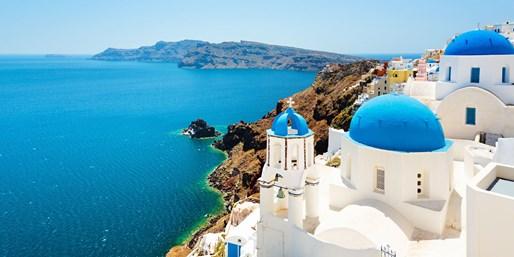 ab 1395 € -- Paros, Naxos, Santorin: 15 Tage Insel-Hopping