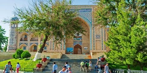 Dsd 1265€ -- Ruta de la Seda: 8 días a Uzbekistán en verano