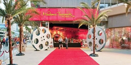 $21 -- LA Madame Tussauds: Ticket & Souvenir Wax Hand