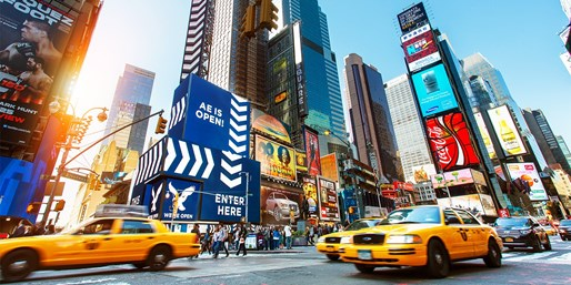 £499pp -- NYC: Times Square Break at Brand-New Hotel w/Flts
