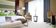 ¥668 -- 玩水正当时!上海南桥铂骊酒店1晚 升套房+早晚自助餐+碧海金沙门票