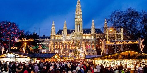 299 € -- 4- bis 5-tägige Adventskreuzfahrten auf der Donau