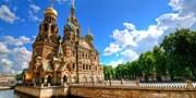 4379 € -- Luxus pur: In der Verandakabine bis St. Petersburg