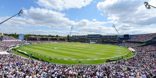 £27.20 & up -- England vs Pakistan Test at Edgbaston, £5 Off