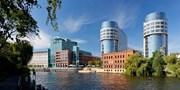 75 € -- Schickes Hotel in Berlin mit Spreeblick, -45%