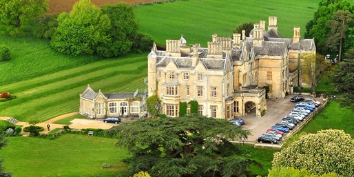 £99 -- Cotswolds Manor-House Stay inc Meals, Was £154