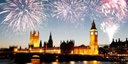 £304 -- NYE Thames Fireworks Cruise w/Dinner for 2, Reg £380