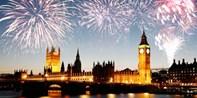 £304 -- NYE Thames Fireworks Cruise w/Dinner for 2, Reg £380