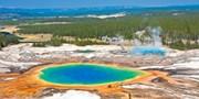 ¥23,599起 -- 黄石公园+美西三城12日 暑期热门 观黄石瀑布+访世界奇观南峡+探野生动物