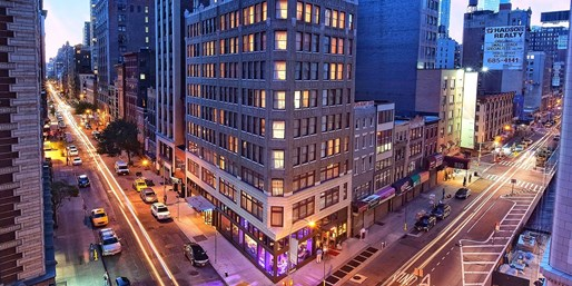 $189 -- NYC: Trendy Flatiron Hotel w/US$55 in Extras, 60% Of