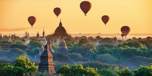 £2098pp -- Myanmar Private Tour & Thai Beach Stay w/Flights