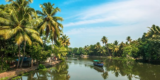 £1298pp -- India: Private Kerala Tour w/Meals, fr Midlands