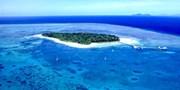 ¥112,800 -- 直行便で行くオーストラリア5日間 ケアンズ4.5星&グリーン島泊