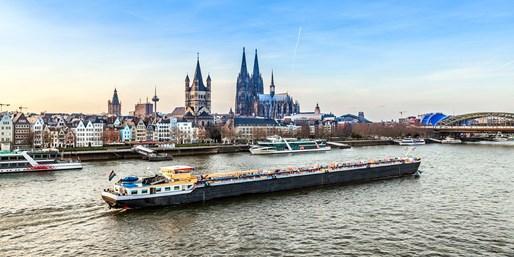 499 € -- Romantischer Rhein: A-Rosa-Kreuzfahrt im Frühling