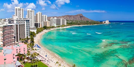 $2799 -- 24-Nt Sydney-to-USA Fly/Cruise via Fiji & Hawaii