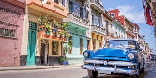 995 € -- Kuba entdecken: 2 Wochen Mietwagenrundreise, -170 €