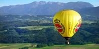 179 € -- Bergpanorama: Ballonfahrt übers Alpenvorland, -22%