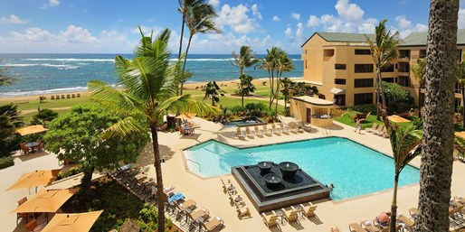 $189 -- Beachfront Kauai Hotel w/Daily $50 F&B Credit