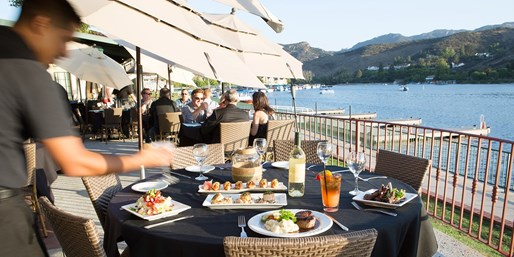 Waterfront Lunch for 2 at Zin Bistro; $65 for Dinner for 2