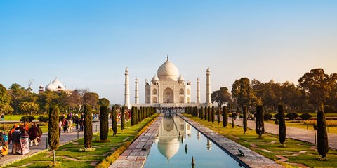 £829pp -- North India: 10-Nt Guided Tour w/Flights, Save 61%