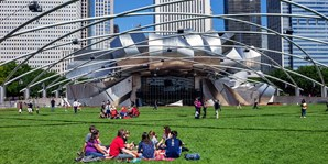 $39 -- Picnic & Movie in Millennium Park: Tuesdays in Summer