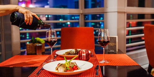 'Miami's Top View: 'Superb' Dinner w/Wine at the Conrad