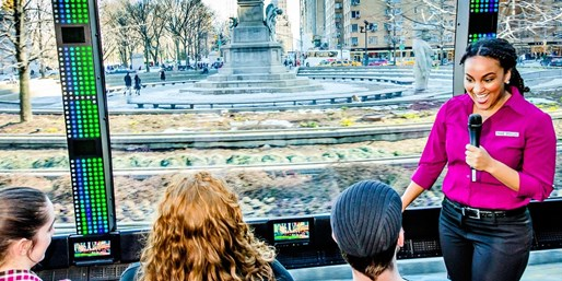 £21 -- New York: Panoramic Bus Tour Ticket, Was £38