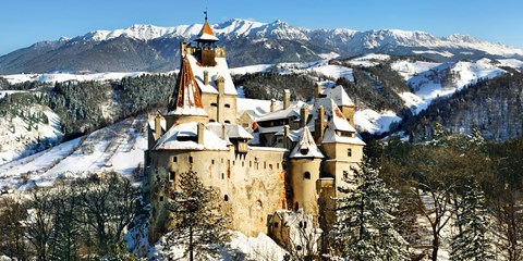 £259pp & up -- Transylvania Ice-Hotel Experience w/Castle