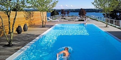 249 € -- 5,5*-Hotel am Bodensee mit genialem Dachpool, -50%