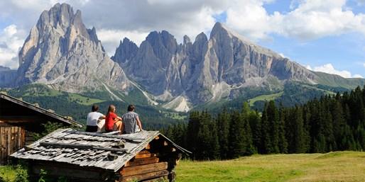 ab 884 € -- Dolomiten: Wanderurlaub & HP auf der Seiser Alm