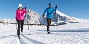 ab 271 € -- Loipenfieber: Dolomiten Urlaub inklusive Skipass