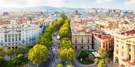 ab 188 € -- Barcelona: 4 Tage Gaudí & Ramblas mit Flug