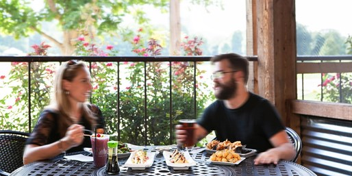 Park Tavern: Private Cabana Dinner w/City's 'Best Scenery'