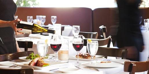 $65 -- Chablis: Dinner for 2 incl. Wine on Ventura Blvd.