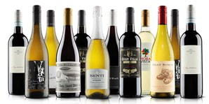 £45 -- 12 Bottles of Wine inc Bubbly, 63% Off (exc P&P)