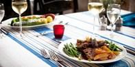 49 € -- Exklusives Wein-Menü in vier Gängen für zwei, -45%
