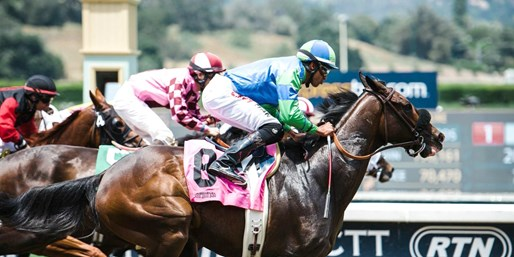 $35 -- Santa Anita Horse Races: Box Seats for 4, 60% Off