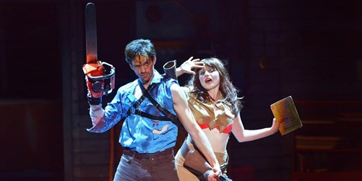 'Evil Dead The Musical' at Randolph Theatre, Half Off