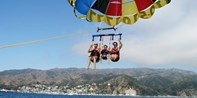 $105 & up -- Parasailing for 2 in Catalina or Newport