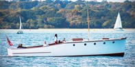 £54 -- Classic Motor Boat Sailing Experience & Cake for 2