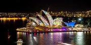 $38 -- Cruise Sydney Harbour during Vivid w/Dinner & Drink