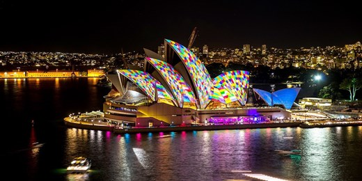 $39 -- Vivid Sydney Catamaran Cruise w/Dinner & Drink