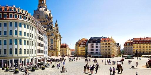 79 € -- Stilvolles Hotel in Dresden & Prosecco, -41%